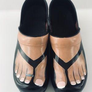 Sanita Clogs Handpainted
